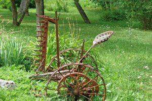 Matériel Agricole, Vieux, Rouille, Faucheuse